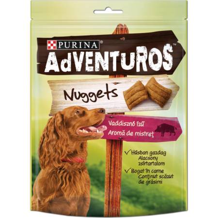ADVENTUROS Nuggets, slasni jastučići, 90g