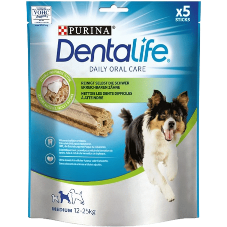 DENTALIFE Medium, poslastica za pse, 115g