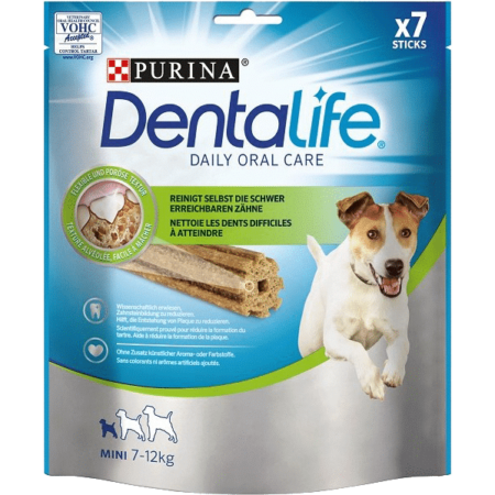 DENTALIFE Small, poslastica za pse, 115g
